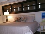 Loft are with queen bed