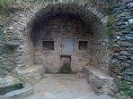 fontaine du village a 40 metre