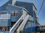 Private duplex with direct ocean frontage