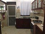Spacious, Open Kitchen Area