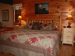 Quality furnishings in each bedroom. Both bedrooms have king sized bed, cable tv