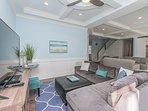 1st Floor TV/Living Area