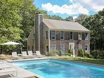 1.1 Acre, 6BR, 3000 sqft House with Pool & Tennis Court in Exclusive Hither Woods Montauk  Beach