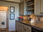 Large Kitchen With Laundry Room