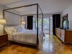 The master bedroom - magnificent!