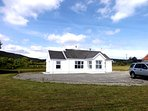 Private Cottage with elevated views of Lough Foyle and the stunning surrounding Countryside.
