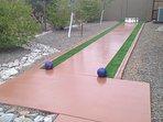 Just Built 10 Pin Bowling Lane.