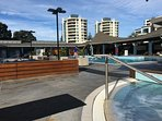 8 mins drive to spa and salt water pool