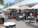 waterfront cafes