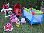 Childrens equipment.