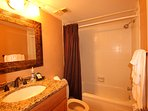 Upgraded Guest bathroom
