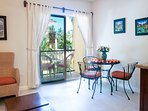 Light and breeze from your own private balcony