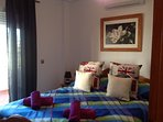 Double bedroom with aircon