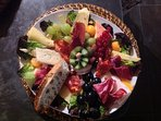 Arrivée tardive: une assiette gourmande vous est proposée !