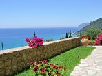 Breathtaking sea views, stunning sunsets, colourful gardens in a modern facilities accommodation.