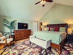 Boston Fern master bedroom