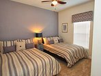 Downstairs Full Bedroom w/32' Flat Screen TV - Two Full Beds - Sleeps up to 4 Guests