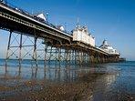 Eastbouren Pier at low tide