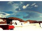 Solarium y arco iris