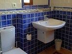 Large common bathroom