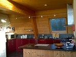 Modern spacious kitchen