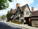 Nash's House - Shakespeare's daughter's home - less than 5 minutes walk away
