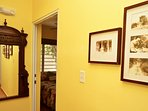 Wall heirlooms, historic photos throughout the home