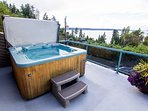 Your own private Jacuzzi Hot Tub.