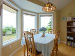 Enjoy the views from dining room