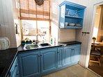 Full kitchen including washing machine