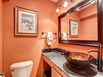 Royal Glen Main Level Powder Room Frisco Lodging Vacation Rental