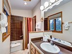 Royal Glen Up stairs Master Bathroom Frisco Lodging Vacation Ren