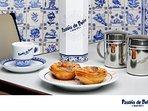 Points of interest in the area: Typical custard tart 'Pastéis de Belém'