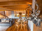 The property has been delightfully decorated to create a homely feel.