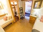 The delightful ensuite bedroom on the ground floor