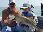 Great Catch!  Another 'Fish Ohio' Walleye