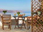 Avra Apartments - Levantes, view from the veranda
