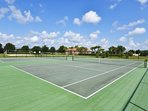 Use our racquets in the villa to play tennis at the clubhouse.