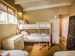 Children's room showing bunk beds