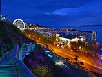 Torquay seafront and The Princess Theatre are a short bus ride away.