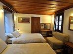 Double/twin/triple bedroom