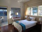 One of the bedrooms with bathroom en suite