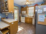 All Stainless appliances in the kitchen.