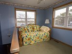 3rd level loft with a daybed and trundle sleeping an additional 2 guests.