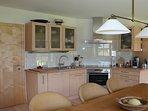 The kitchen at Chalet Filzmoos in Ski Amade