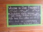 Dive Shop at the Resort