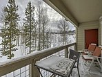 Featuring unobstructed views of Arapahoe National Forest and Buffalo Mountain from the private balcony, this condo...