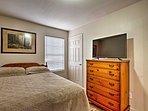 Each room has a TV
