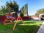 Swing Set and Fort added for the young at heart