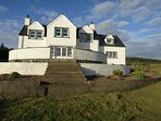 Knockinaam House set in 3 acres of ground with woodland to the rear
